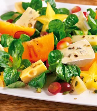 Sellerie Käsesalat Mit Weintrauben Und Orangen Rezept Tegut