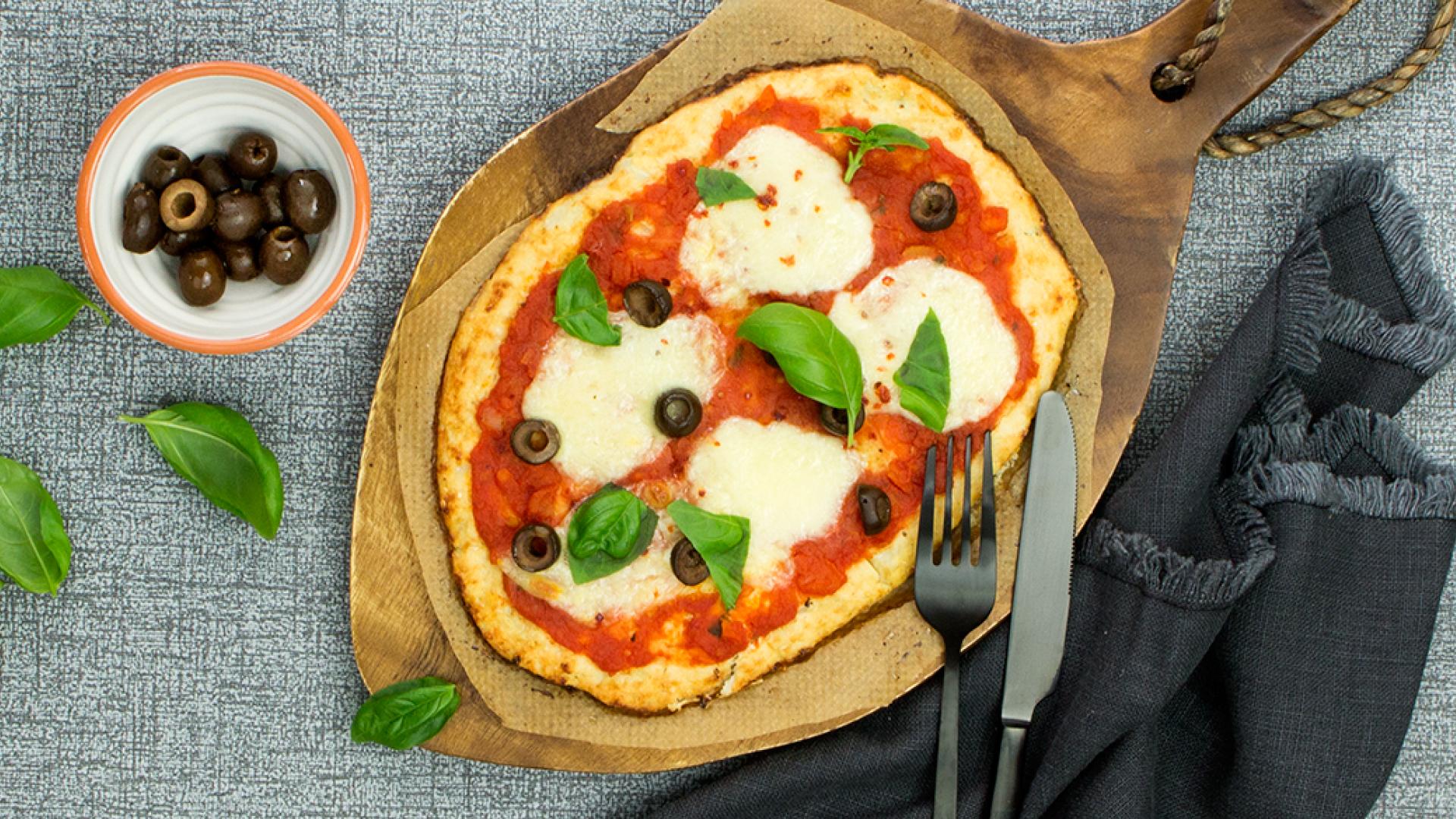 Blumenkohl Pizza Rezept | tegut...