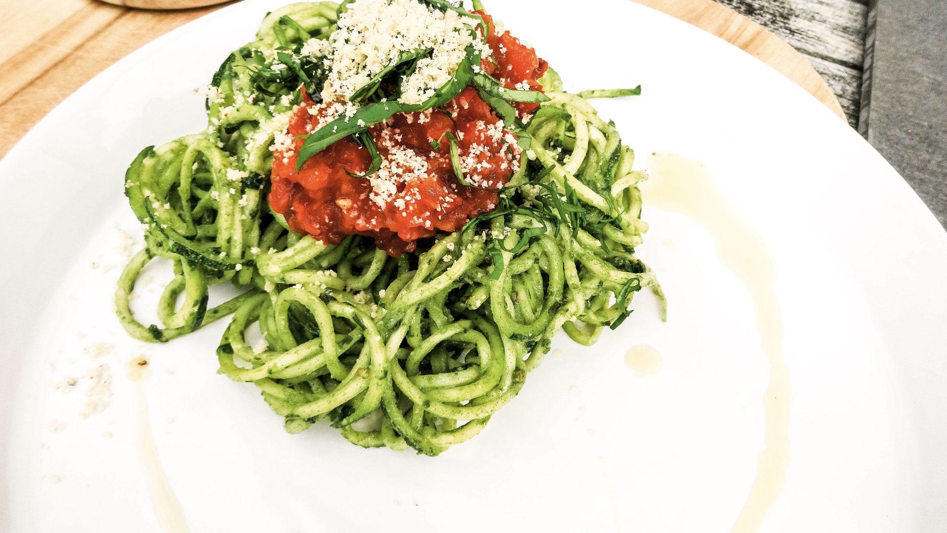 Vegan rezepte zucchini spaghetti