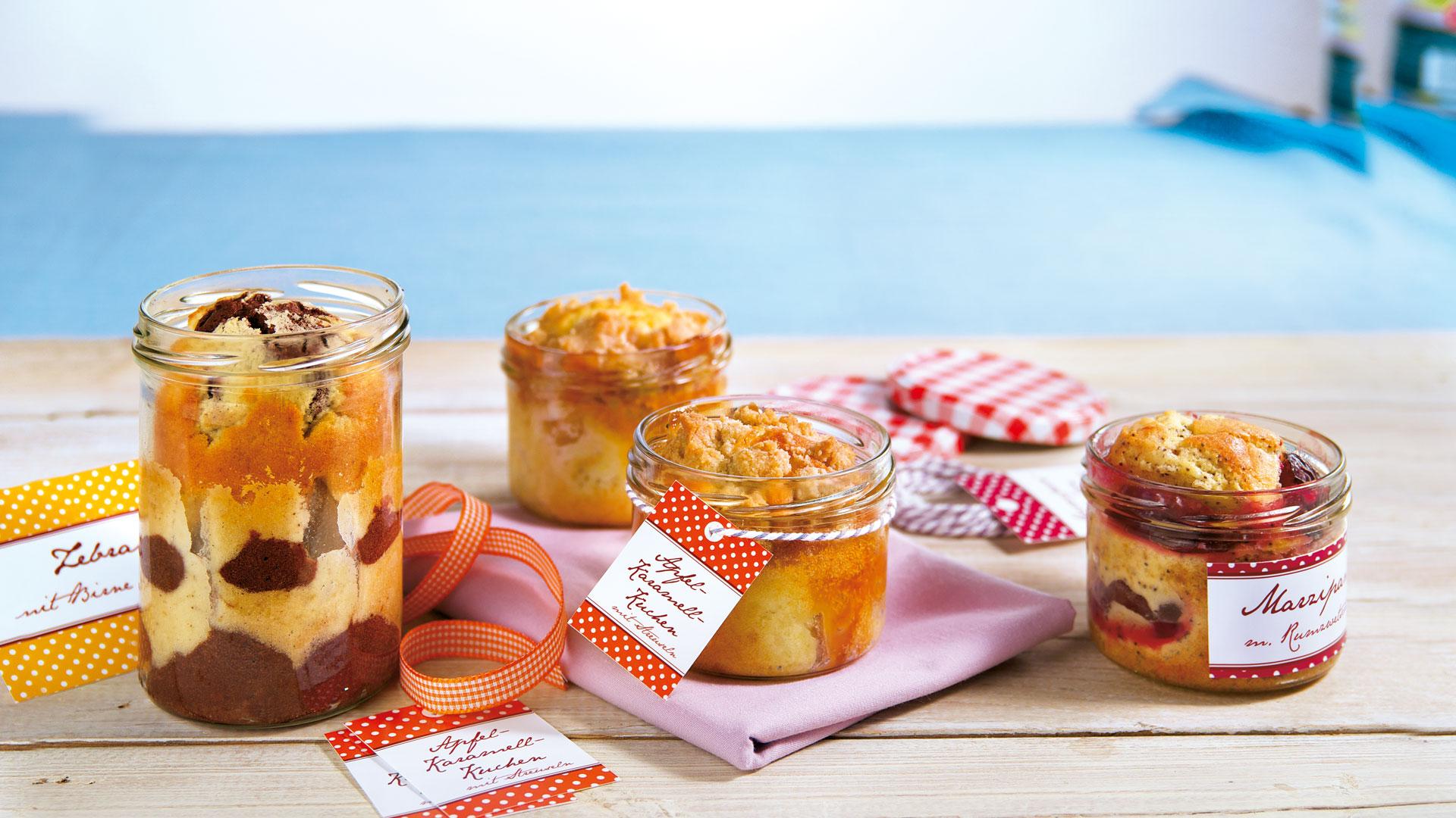 Kuchen Im Glas Marzipankuchen Mit Rum Zwetschgen Und Mohn Rezept