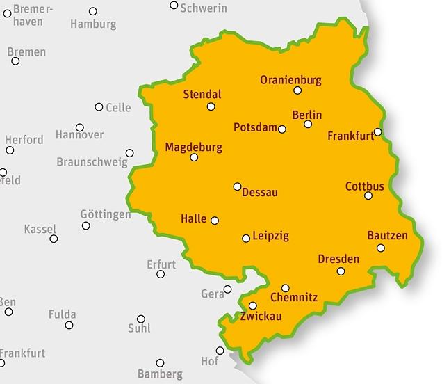 Urlaub im Osten Deutschlands | tegut...