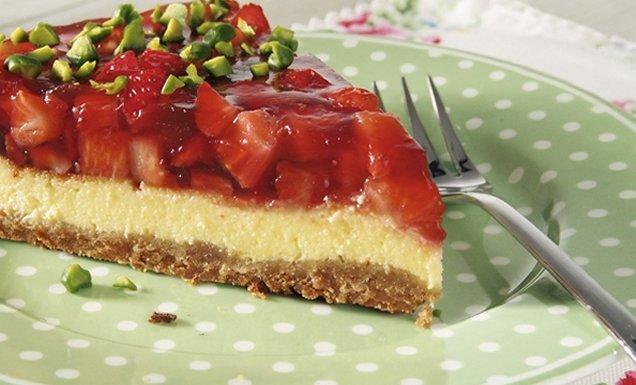 cheesecake mit erdbeeren und limette rezept tegut. Black Bedroom Furniture Sets. Home Design Ideas
