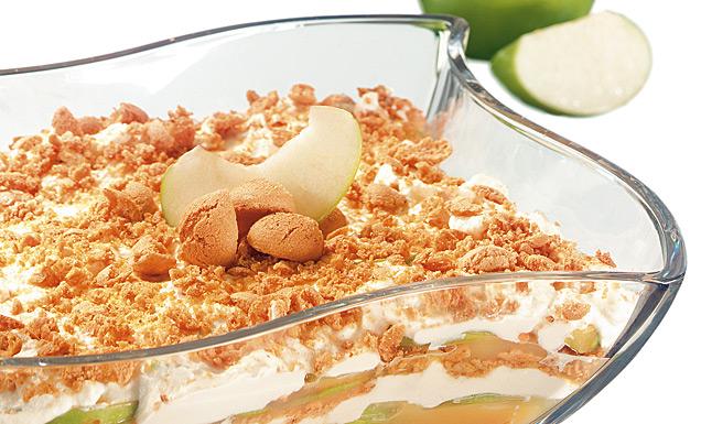 Apfel Tiramisu Mit Amarettini Rezept Tegut