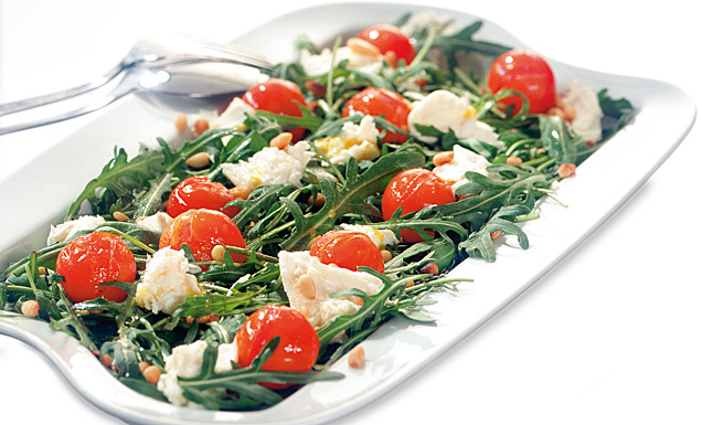 rucola tomaten salat rezepte suchen. Black Bedroom Furniture Sets. Home Design Ideas