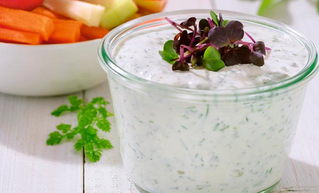 Kräuter Joghurt Dip Rezept Tegut