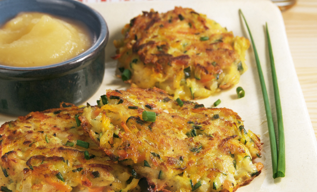 Rezept fur zucchini kartoffel laibchen